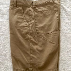 North Face Khaki Shorts